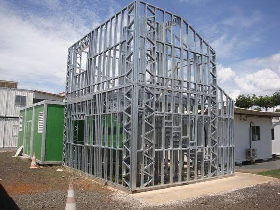 Light Steel Frame: estrutura metálica leve