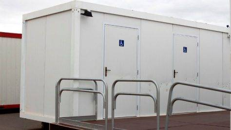 Container Sanitário PNE