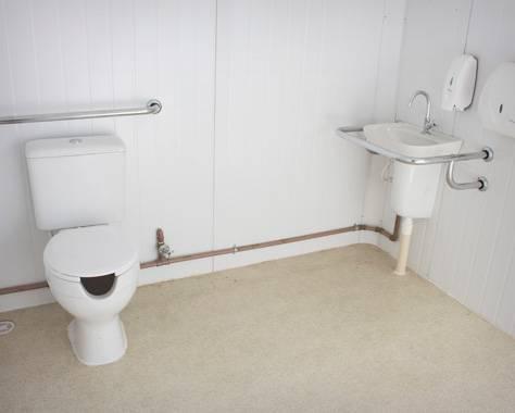 Interior Container Sanitário