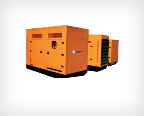 Gerador de energia 30 a 290 kva