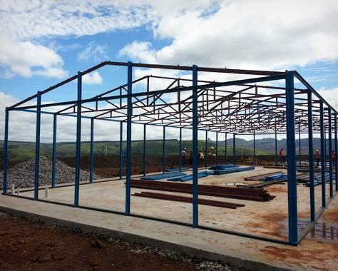 K-House leve estrutura em aço