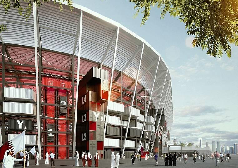 Estádio Ras Abu Container