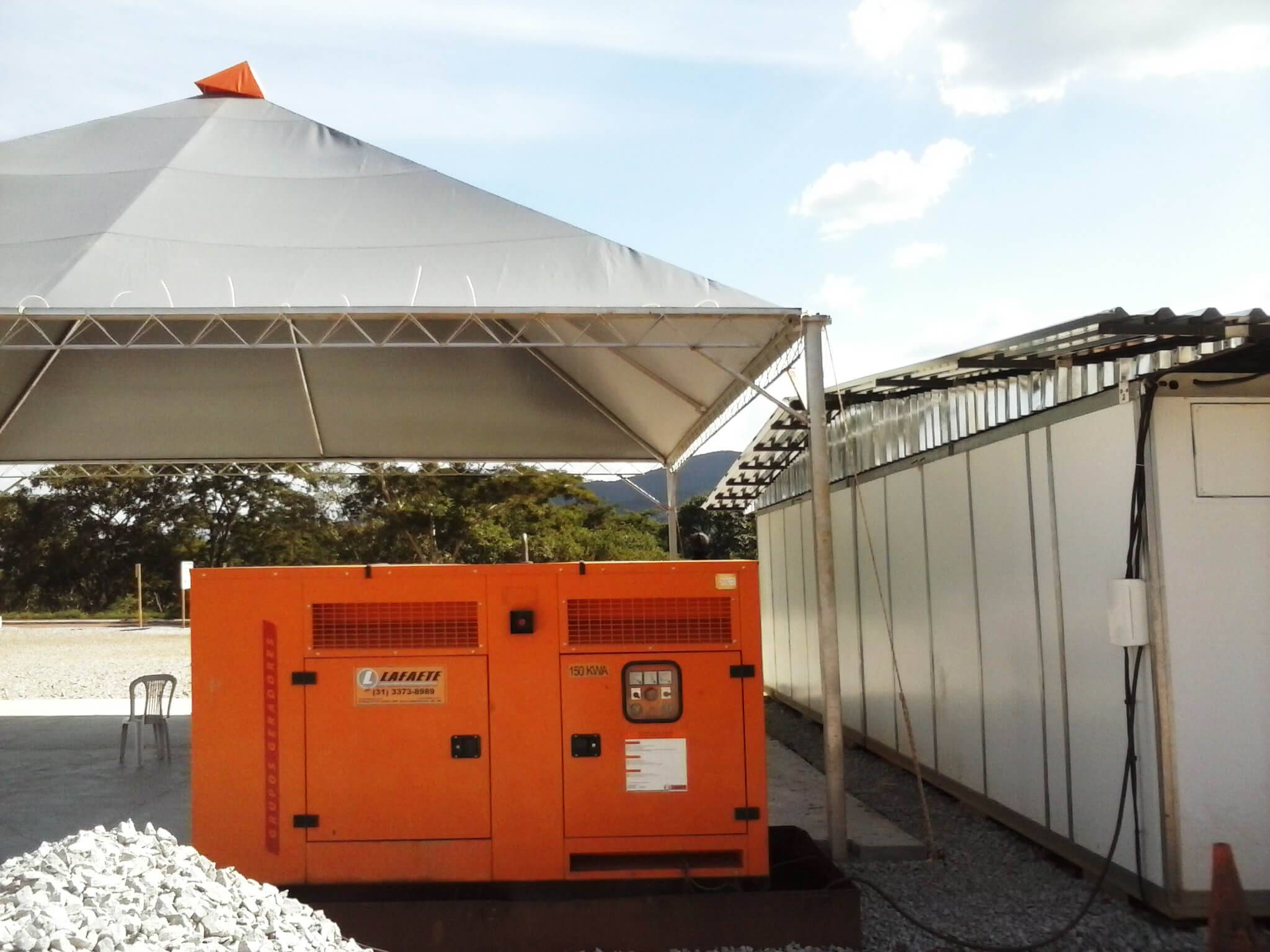 Gerador de Energia para Obras