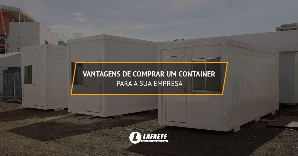 Comprar container