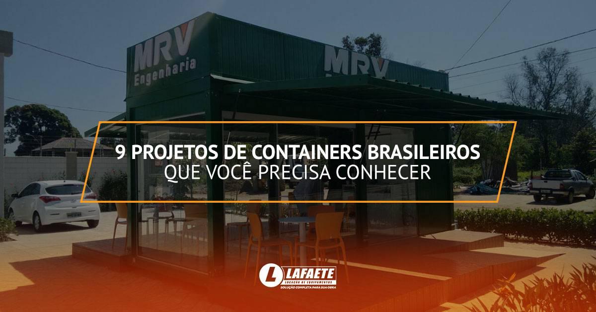 9 projetos de containers brasileiros que você precisa conhecer