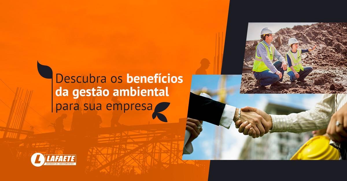 Os benefícios da gestão ambiental para a sua empresa