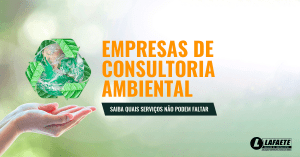Empresas de consultoria ambiental: saiba quais serviços não podem faltar
