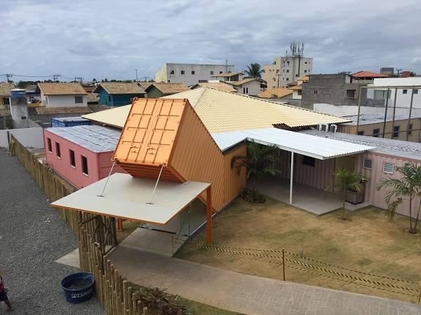 Escola Adventista em container 4
