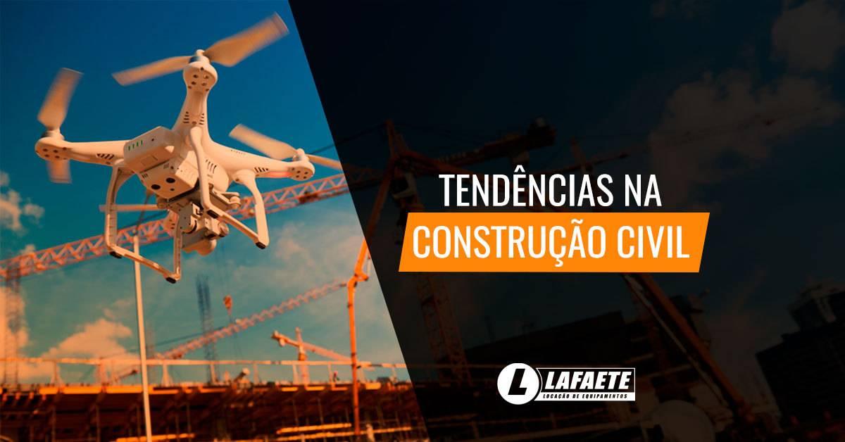Novidades e tendências na construção civil para 2019