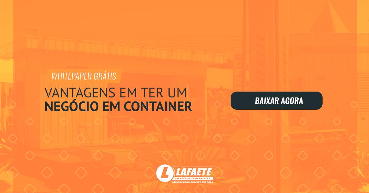 Veja quais são as vantagens de ter um negócio feito em container