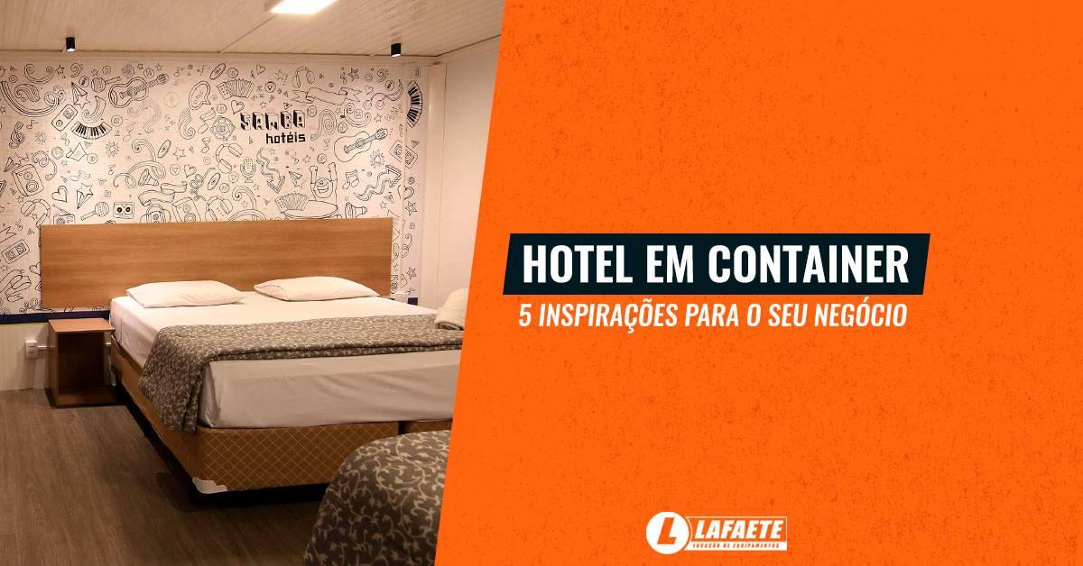 Hotel em container