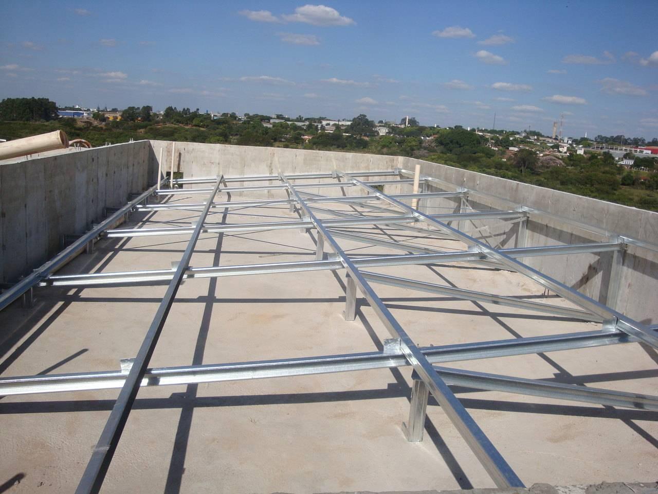 Telhado para a MRV feito em Light Steel Frame