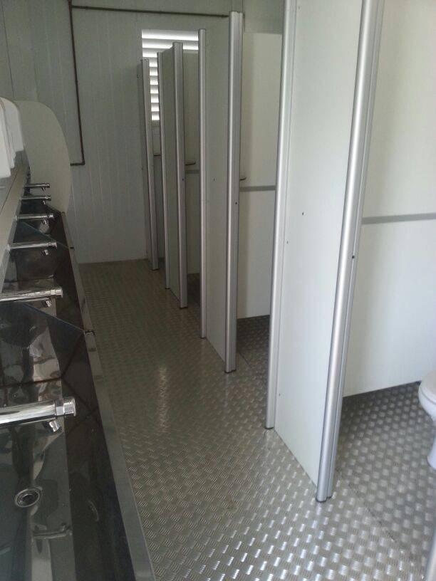 sanitário em container disponível para locação