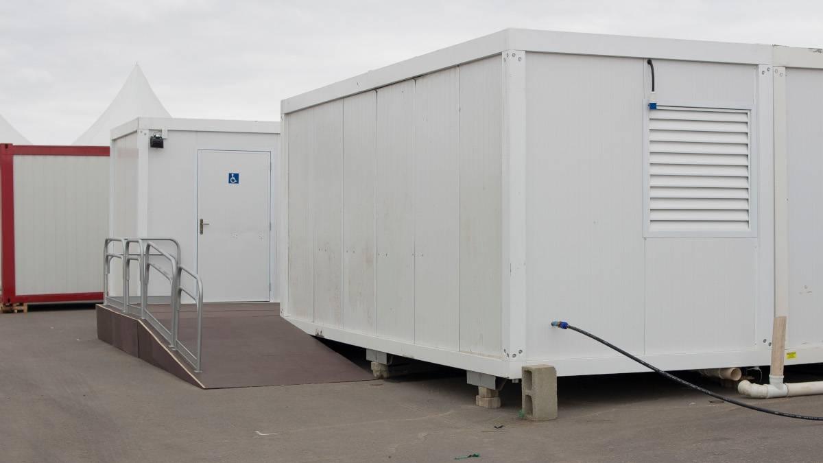 container sanitario na lafaete locação