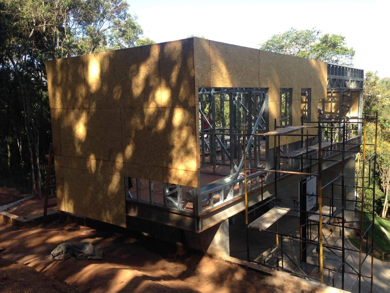 Projeto feito em Light Steel Frame de uma casa residencial.