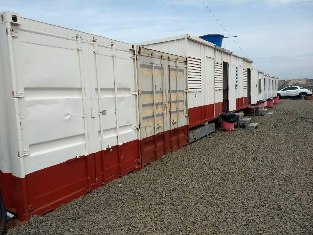Locação de container marítimo para obras