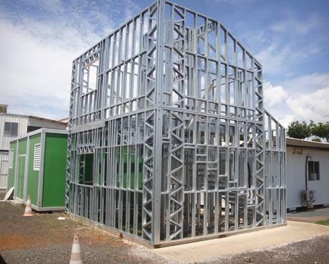 casas steel frame