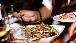 comida gourmet foto