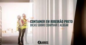 Container em Ribeirão Preto