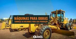 Máquinas para obras