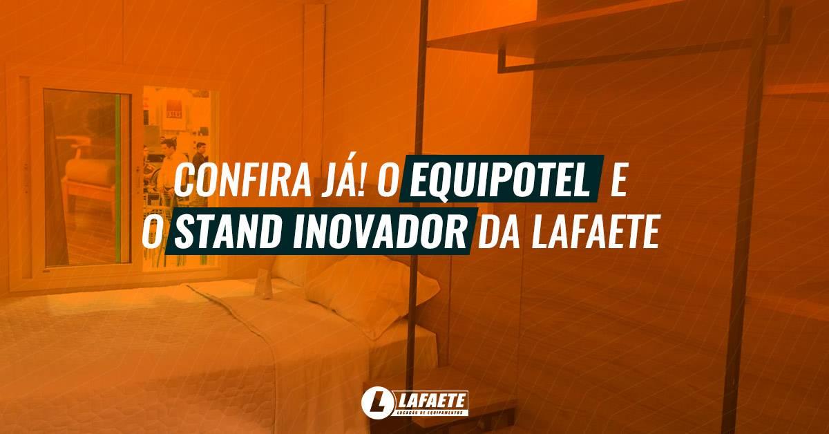 Equipotel 2019: as ideias inovadoras da Lafaete sobre container