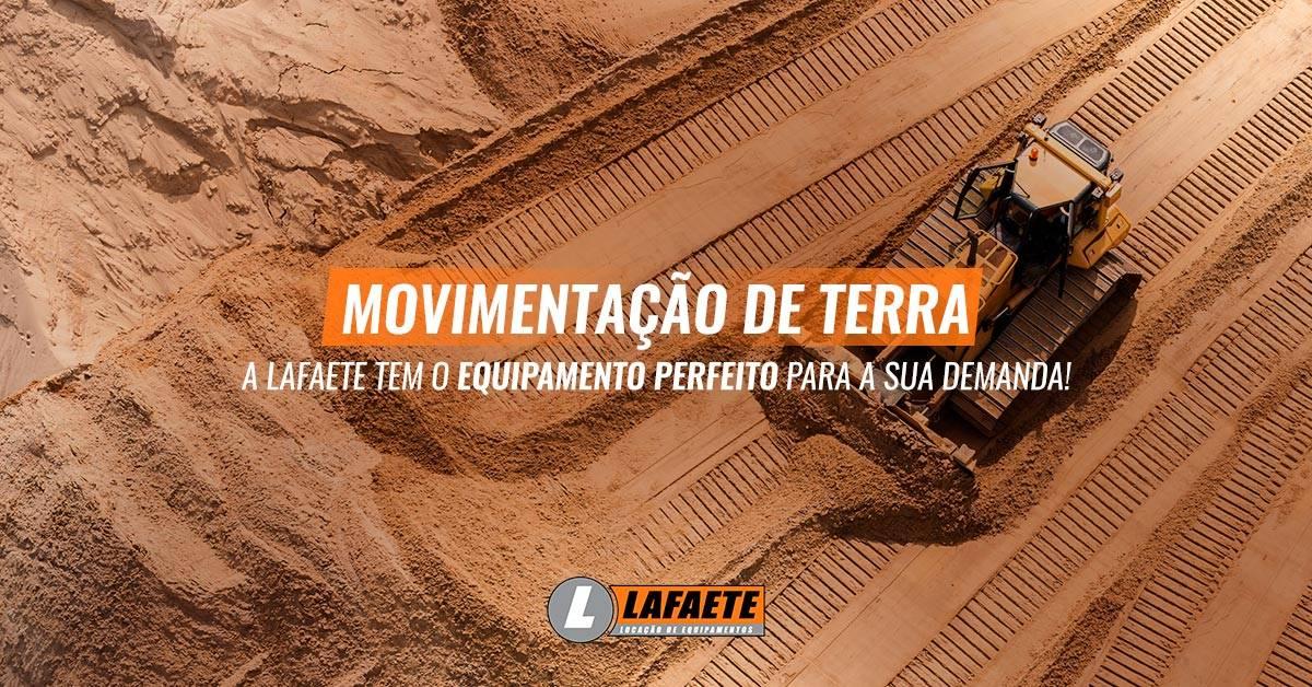 Movimentação de terra: quais equipamentos são utilizados?