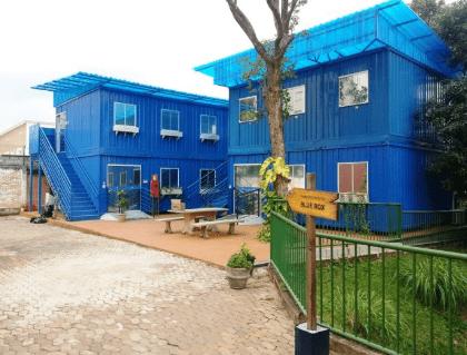Escola feita com a construção de container. Projeto especial realizado pela Lafaete em Minas Gerais.