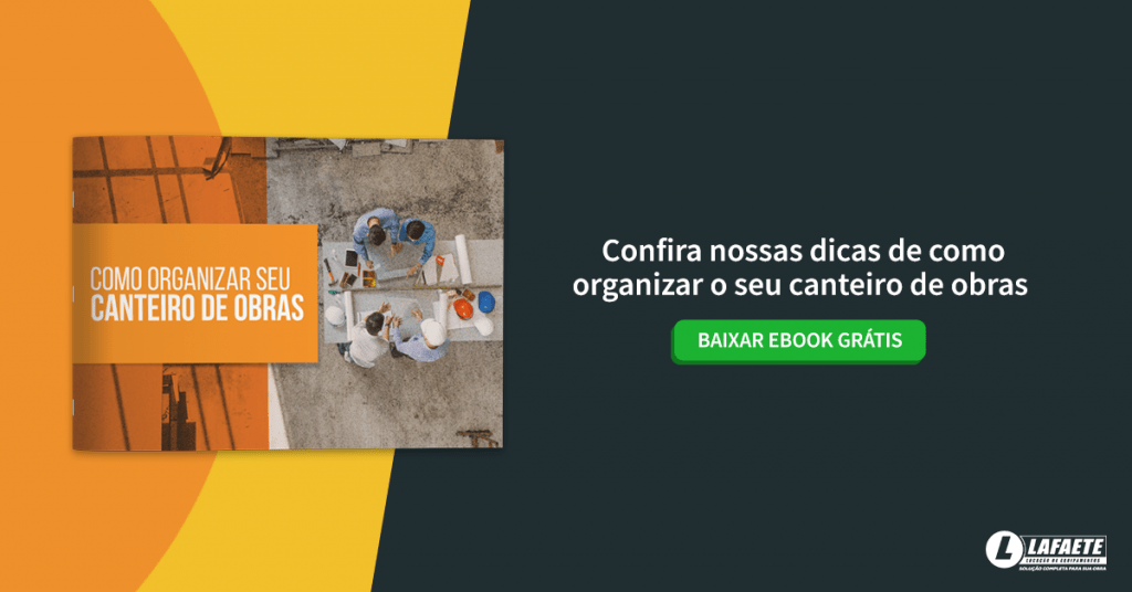 "Download gratuito do eBook ""como organizar o seu canteiro de obras"""