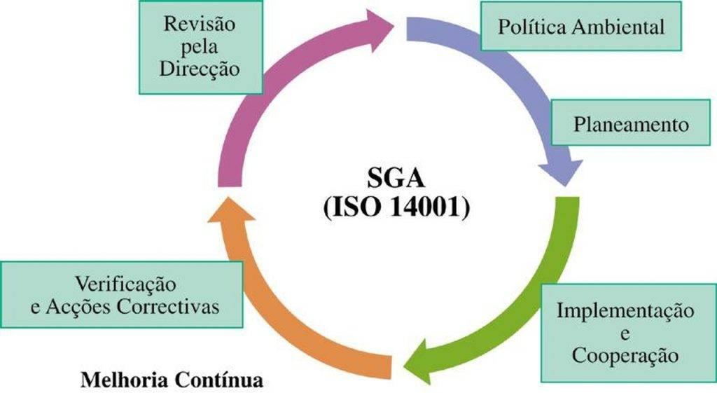 O ciclo da gestão ambiental