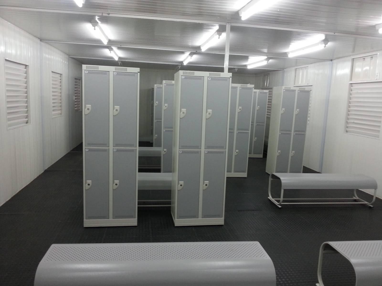 Container Vestiário ou vestiário modular