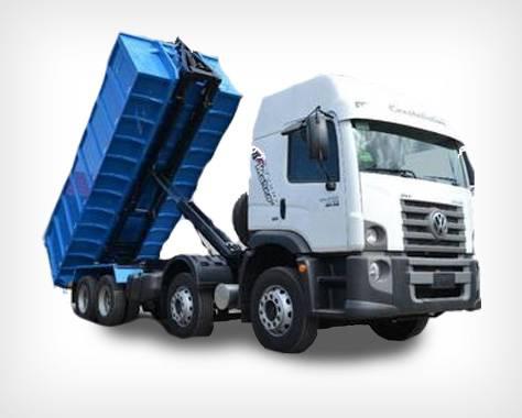 Truck aluguel de caminhões para obra