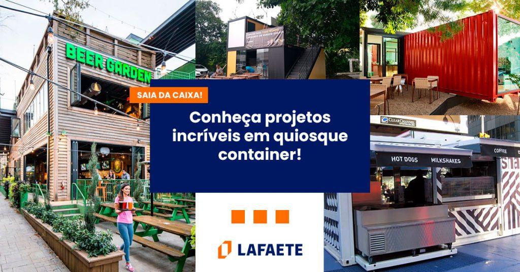 nova alternativa para negócios: quiosque container se mostra excelente para projetos de engenharia civil