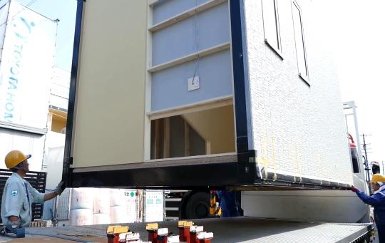 Construção modular - Casa construída no Japão em menos de 24h