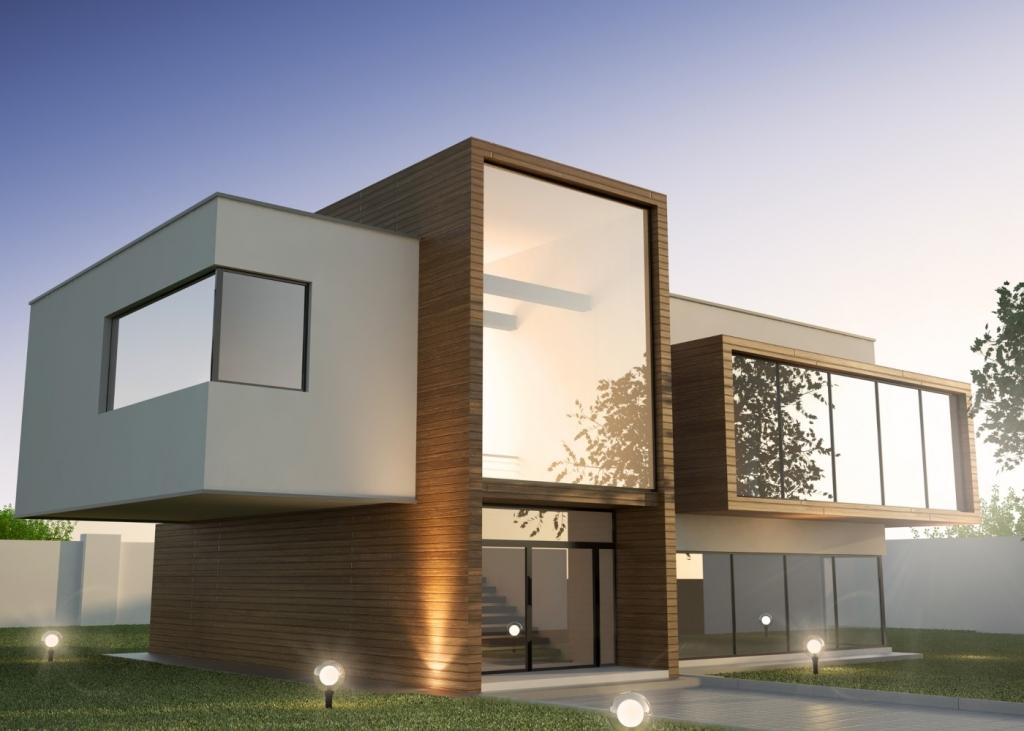 Construção modular - Casas luxuosas
