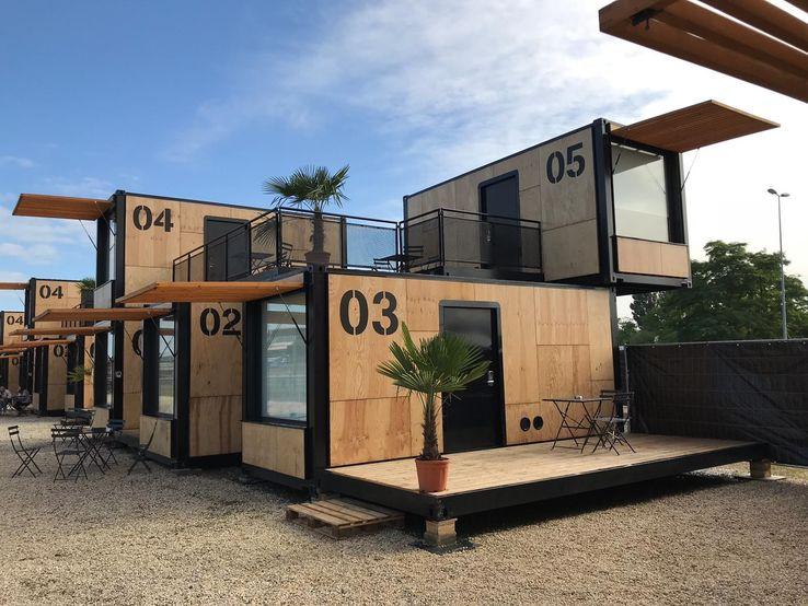Construção modular - Hotéis Modulares