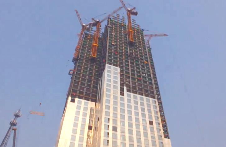 Construção modular - Mini Sky City