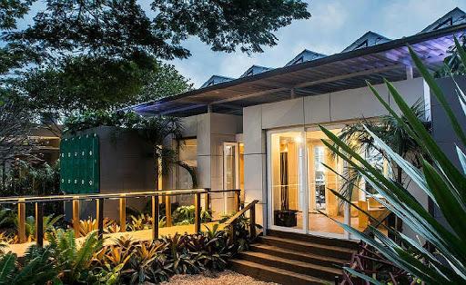 Construções modulares verdes - Casa Aqua