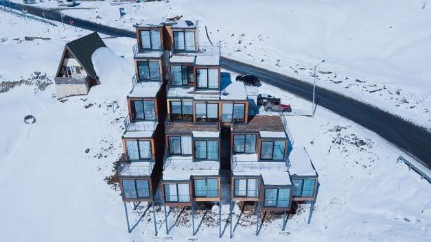 Construções modulares verdes - Hotel Quadrum