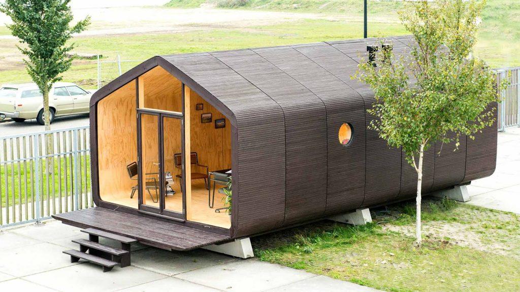 Construções modulares verdes - Wikkelhouse