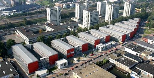 Condomínio container Keetwonen
