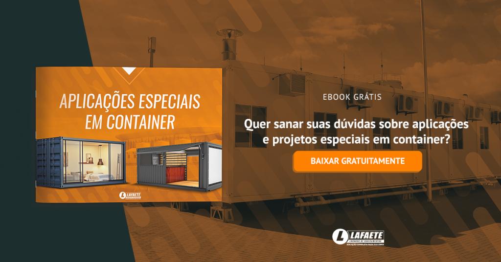 Casas pré-fabricadas - eBook: Aplicações especiais em container