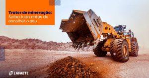 Trator de mineração