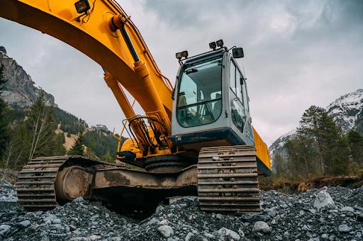 Máquinas de mineração - Escavadeira hidráulica
