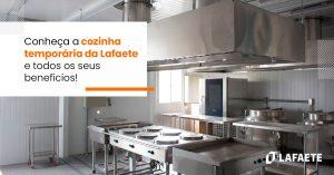 Cozinha temporária