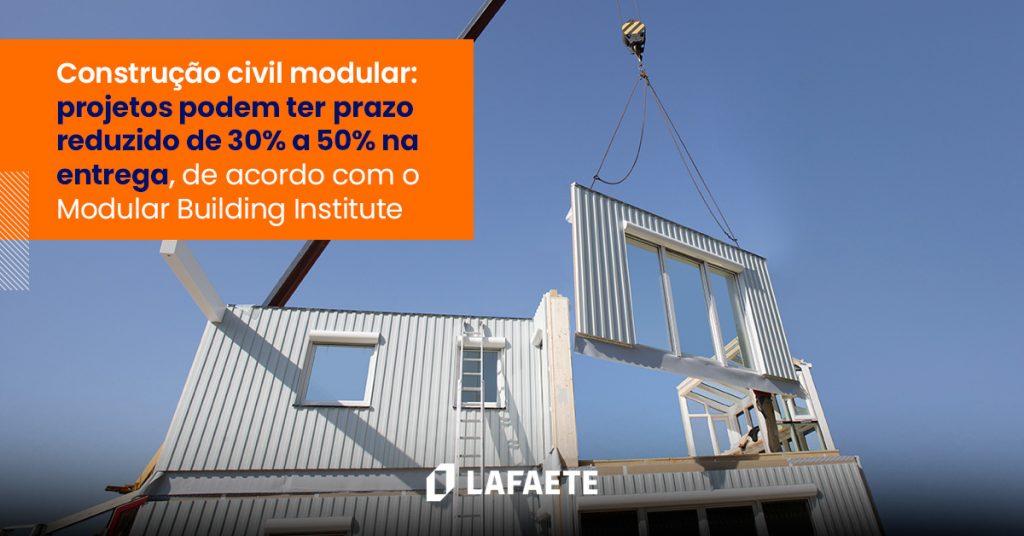Construção civil modular