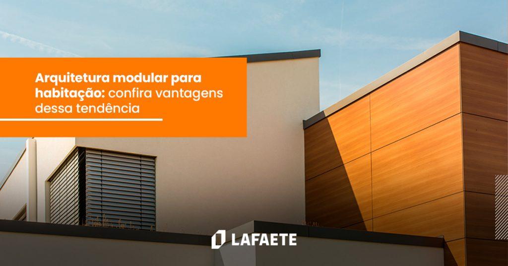 Arquitetura modular para habitação