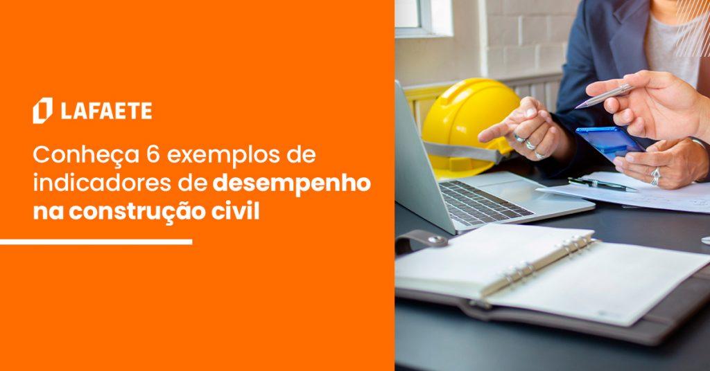 Indicadores de desempenho na construção civil